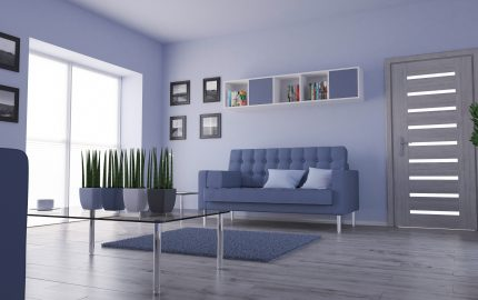 3D render of a Living Room Interior